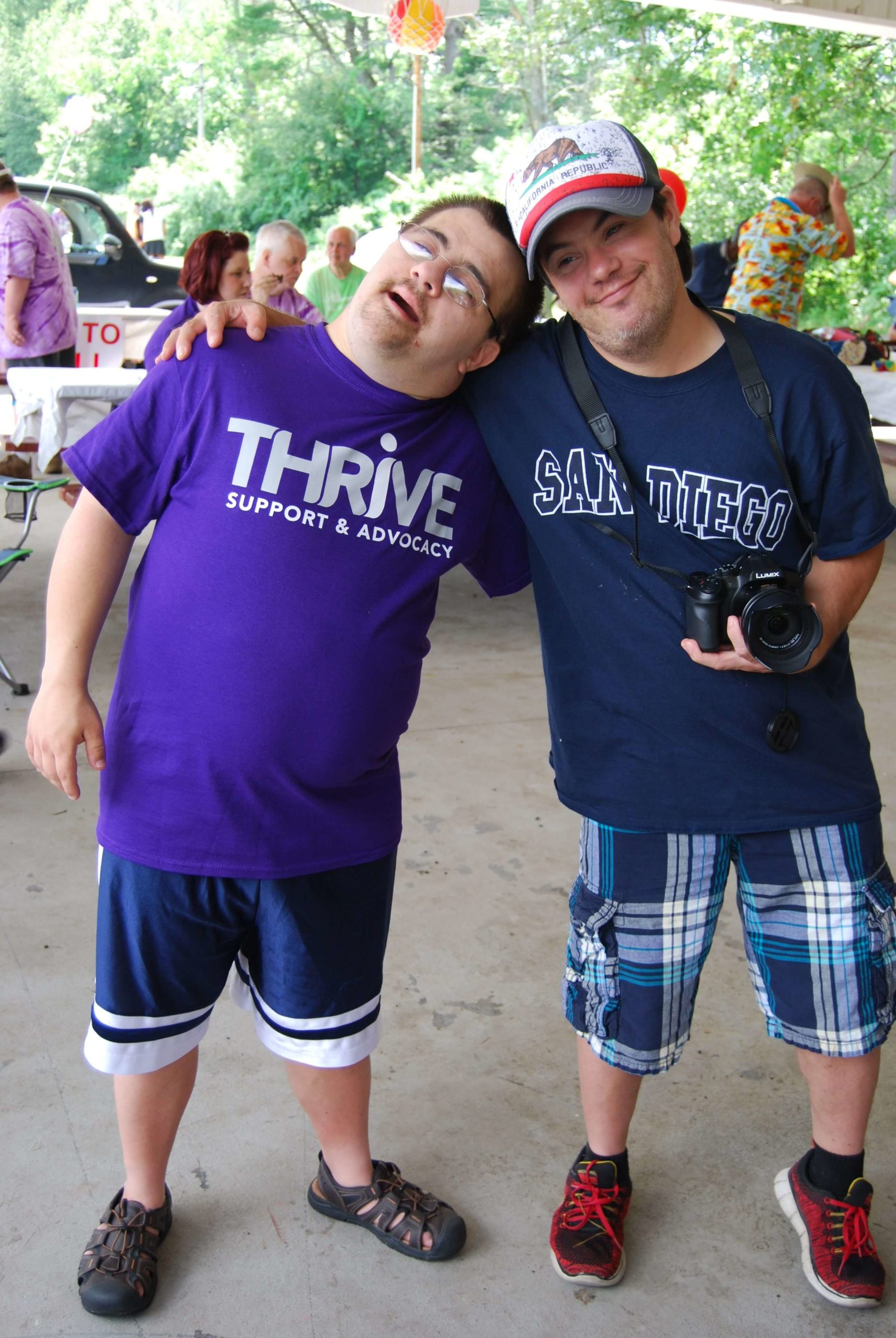 Thrive participants at FunFest