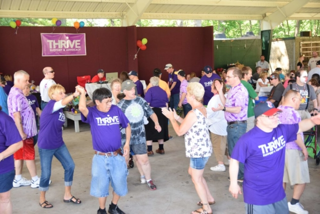 Thrive Dance Party at Funfest