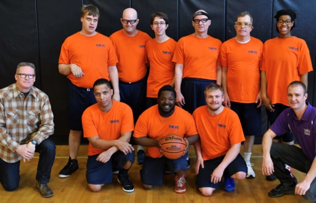 Thrive Basketball Team