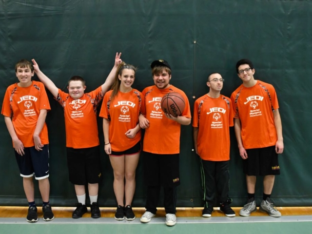 Special Olympics - Youth Basketball team