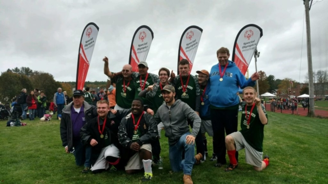 Special Olympics MA soccer team
