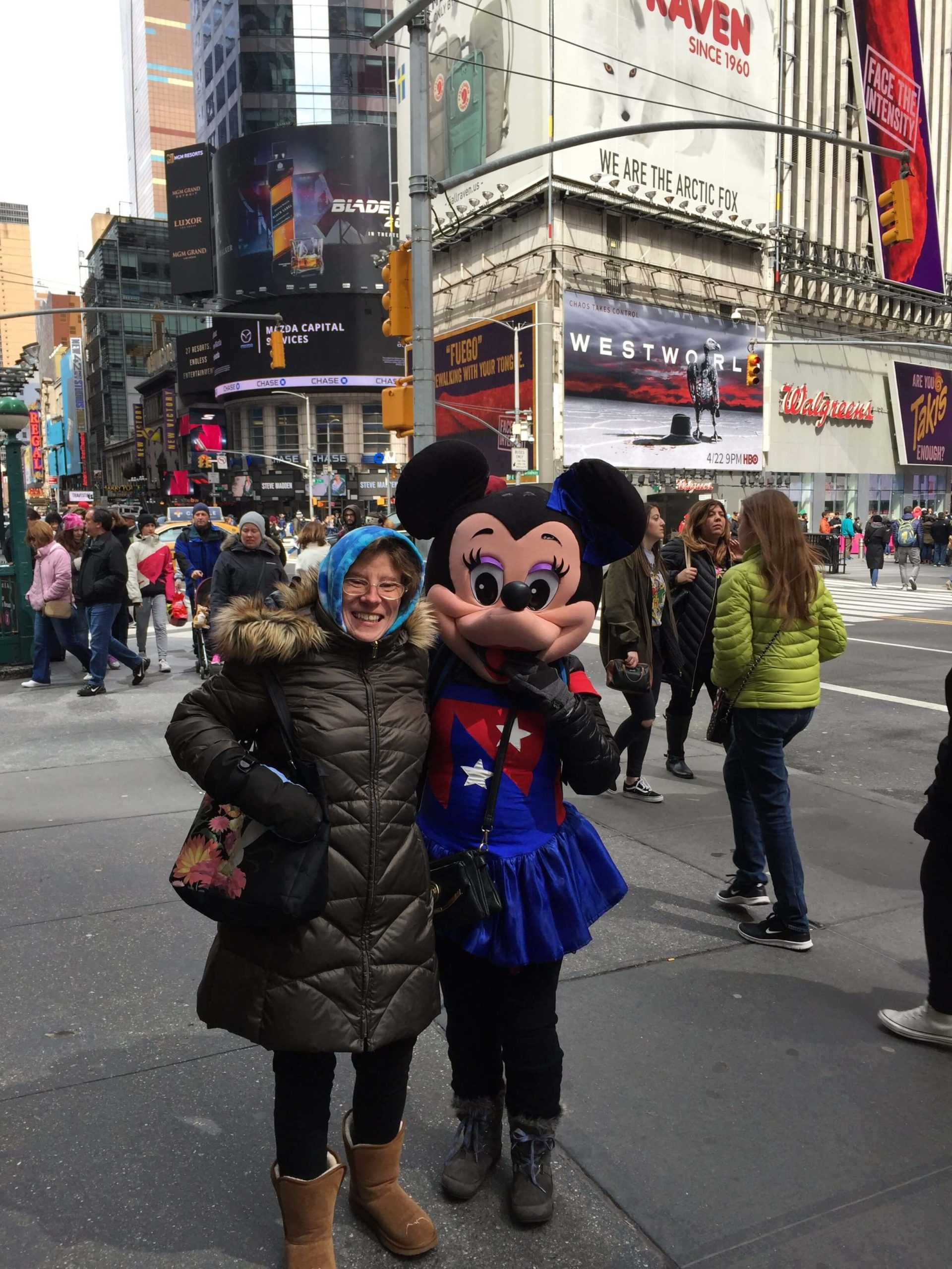 NYC Minnie with Thrive participants