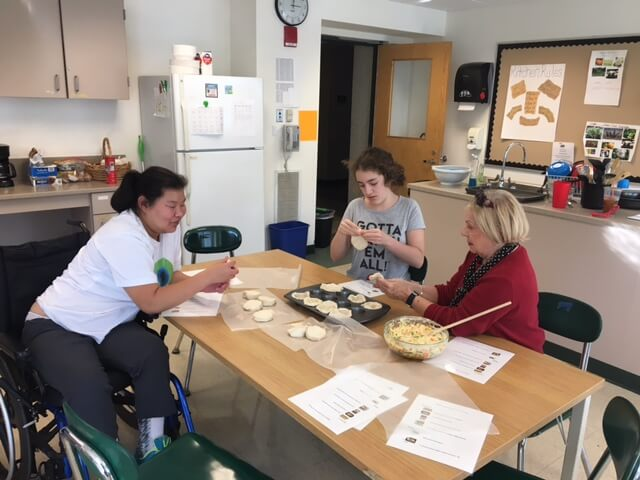 Baking at Thrive After School Community