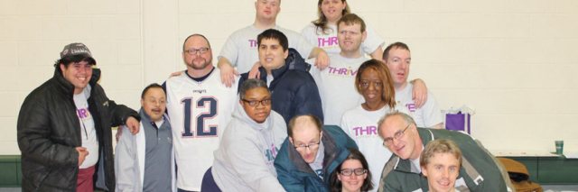 A group of Thrive participants