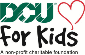 logo for the DCU for Kids charitable foundation