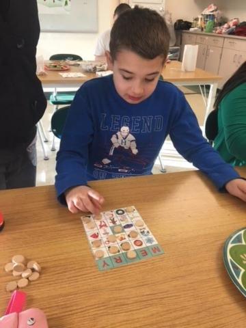 Kids Club Bingo