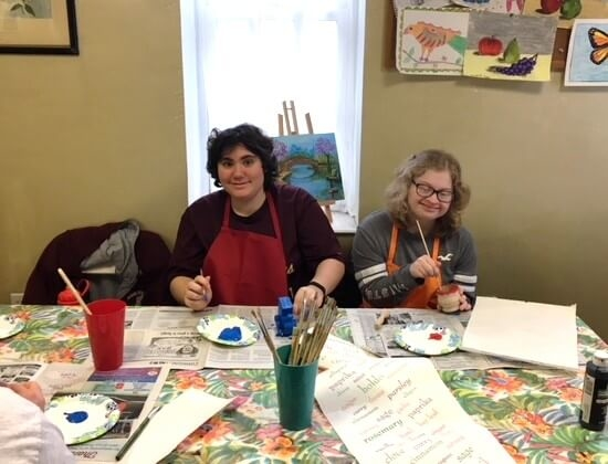 Painting Class With Thrive