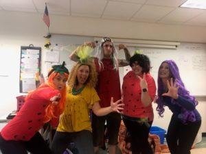 TASC staff dressed for Halloween
