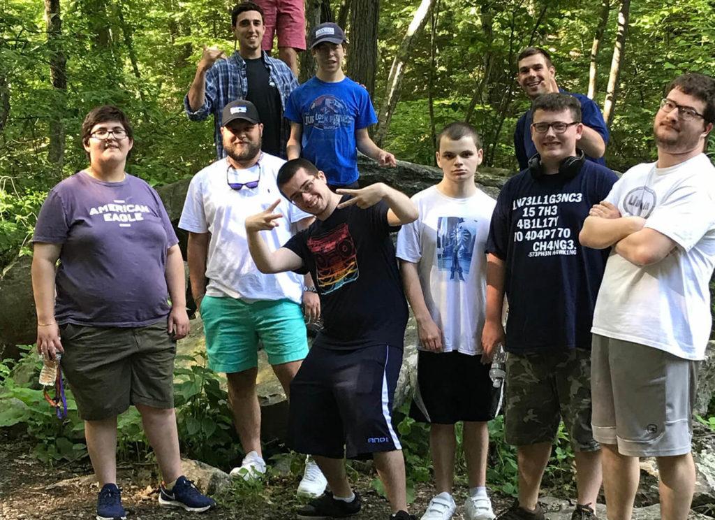 Thrive Men's ASD group hiking