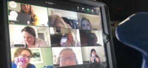 Ladies Group Zoom Call
