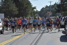 Forrest Road Race runners