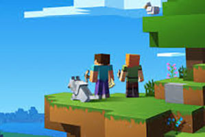 Minecraft graphic
