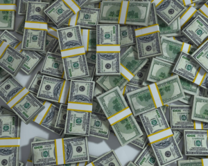 $100 bills graphic