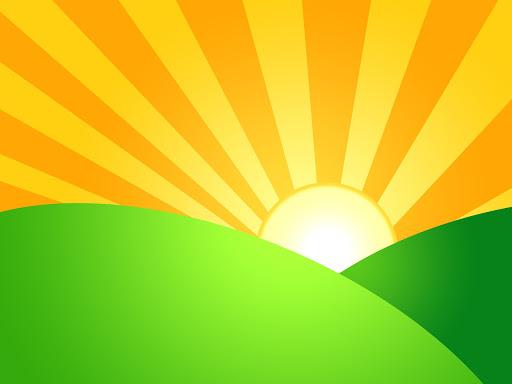 sunrise graphic